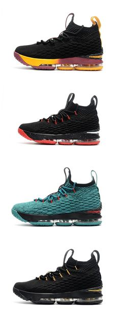 new product d8d2a 7507a Nike LeBron James 15 knit Men Basketball shoes Free Shipping Size 40-46  WhatsApp 8613328373859