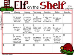 All Students Can Shine: Elf On The Shelf - Let's Get This Party STARTED!