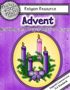 Updated to include a PPT file for projecting the story on the board as you read it and a Jesse Tree Advent craft project.  An interactive book to assemble and read with your children to help them understand what Advent is and what is really important about Christmas. $ K-3 #Advent #Christmas