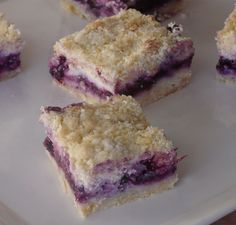 Blueberry Dessert With Cream Cheese | ... the recipe slightly to use up a package of Philly cream cheese