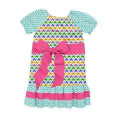 Check out this dress Christy Strickland designed on Designed By Me from Lolly Wolly Doodle! #springfabrics #lwd