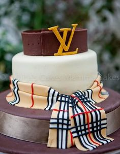 Louis Vuitton Burberry Cake