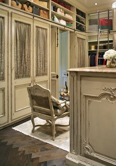 Dressing Room Custom Cabinetry Designs