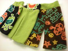 Adventures In Fluff: How To Sew Your Own Fleece Longies (long pant fleece diaper covers)