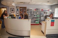 Our reception staff can't wait to greet you! At Palmetto Animal Hospital, our entire staff is passionate about providing the best possible veterinary care for the pets of Florence, SC.