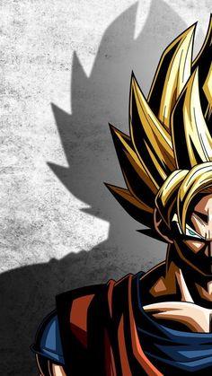 Anime l Goku Goku Super, Super Saiyan, Manga Font, Escalier Art, Dbz Wallpapers, Goku Wallpaper, Mobile Wallpaper, Manga Dragon, Dragon Ball Gt