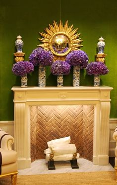 Green: Tory Burch Madison Avenue Flagship Store