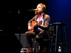 Sam (Iron and Wine) singing Such Great Heights.  One of my favorite singers singing one of my favorite songs.