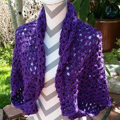 #http://ift.tt/1gkTq3V #handmade #crochetaddict #shrug #purple #summer #sweater #jacket