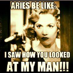 Aries, kind of true