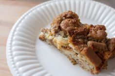 Gluten Free Baked French Toast Casserole {dairy and soy free too!}