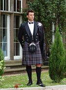 Prince Charlie and Belted Plaid Kilt Outfit
