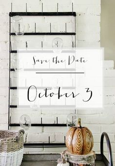 Save The Date (and a Giveaway)