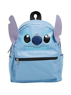 387b35439f6 Disney Lilo   Stitch Face Mini BackpackDisney Lilo   Stitch Face Mini  Backpack