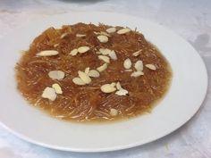 اكلات عراقيه - حلاوة الشعريه بالحليب --- رمضان 24 - YouTube