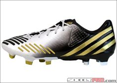 adidas Predator LZ TRX FG Soccer Cleats - Running White and Gold...$197.99