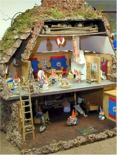Our kids won't have a dollhouse, they'll have a gnome house. Sold!