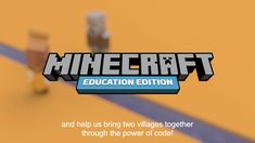 The new Hour of Code: A Minecraft Tale of Two Villages is here! For centuries, Villagers and Illagers have shared the same valley, but they've never learned to get along. Use code to bring the two villages together in this login-free lesson for Minecraft: Education Edition. Minecraft Classroom, Minecraft Crafts, Minecraft Houses, Minecraft Drawings, Classroom Ideas, Education Week, Science Education, Teaching Science, The New Minecraft