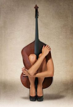 ...playing the cello?
