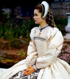 one of the prettiest dresses in Anne of the Thousand Days