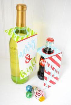 Anders Ruff Custom Designs, LLC: Ruff Draft:  Free Christmas Printables,  Place Mat & Bottle Tags