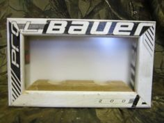 Double Hockey Puck Display Case/Shadow Box by Manland on Etsy