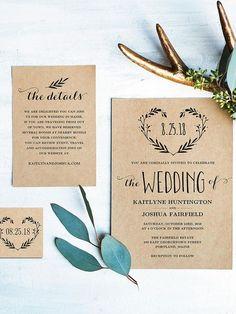 40 Creative Wedding Invitations for Every Style of Celebration - Yup Wedding