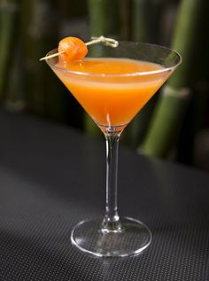 """Sanctuary's Cantaloupe Martini was featured in Arizona Foothills Magazine: """"Thirsty Thursday: How to order brunch drinks."""" (5/9/13)"""