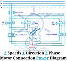 Three Phase Motor Star/Delta (YΔ) Reverse / Forward with