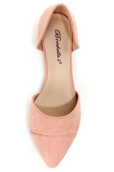 Dolley 03 Blush D'Orsay Pointed Flats for $21.00 -- Eeekkk! Want these!!!! I want them sooo bad!!