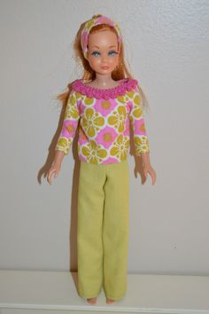 Beautiful Handmade OOAK outfit for Skipper Barbie Doll by Sandi Denkers Ebay and Etsy