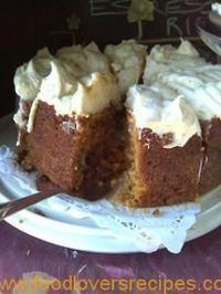 LEKKERSTE WORTELKOEK OOIT Kos, Baking Recipes, Dessert Recipes, Sweet Desserts, Cheesecake Recipes, Ma Baker, Sweet Tarts, Yummy Cakes, No Bake Cake