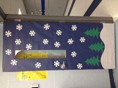 My winter classroom door :)