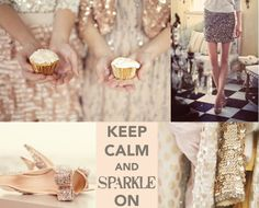 keep calm and SPARKLE on - words to live by : )