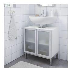 IKEA LILLÅNGEN wash-basin base cabinet w 2 doors Perfect in a small bathroom. Bathroom Furniture, Home Furniture, Rustic Furniture, Modern Furniture, Antique Furniture, Online Furniture, Furniture Makeover, Ikea Lillangen, Pedestal Sink Storage