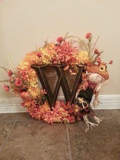Fall Wreath. ...last one for the season