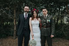 Jen & Ian, an officer in the Irish army, Humanist wedding conducted by Joe Armstrong with Guard of Honour, Mount Druid, 30 August 2017 30 August, Joe Armstrong, Irish, Army, Weddings, Celebrities, Gi Joe, Celebs, Irish Language