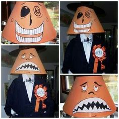 Nightmare before Christmas mayor costume, this is too awesome, it must be a lampshade