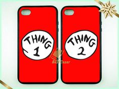 Thing Case Double cases best friends forever iphone by BestCaser