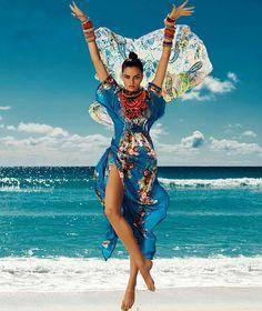 Barbara Fialho   Harper's Bazaar Mexico   Verão (July) 2013   Comunidade Moda