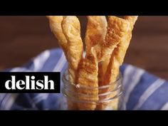 Easy Parmesan Twists - Delish.com