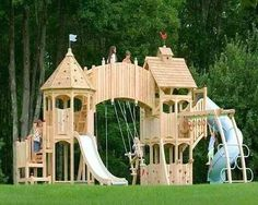 Oh. My. God. This would be my play castle!! No Kids Allowed!!