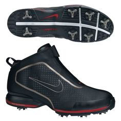 e8805e39ce27 New! Nike Zoom Bandon Mens Waterproof Golf Shoes - Black - Size 10 - Rory  Tiger