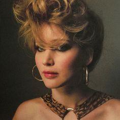 """Le coiffure.  Jennifer Lawrence as Rosalyn Rosenfeld in """"American Hustle"""""""