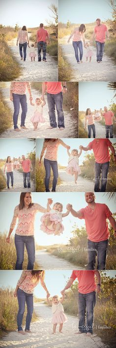 Lifestyle Family and Baby Beach Photography-great outfit coordination