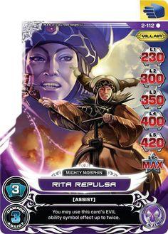 Rita Repulsa Power card