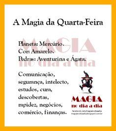 Magia no Dia a Dia: A Magia da Quarta-Feira