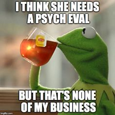 hmmm i sure do know some who could use one....But Thats None Of My Business