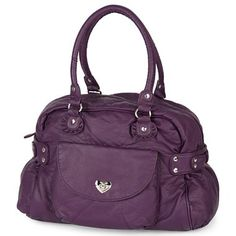Betseyville® Washed Pebble Satchel Bag - jcpenney