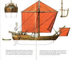 Roman 1st Century Merchant Ship